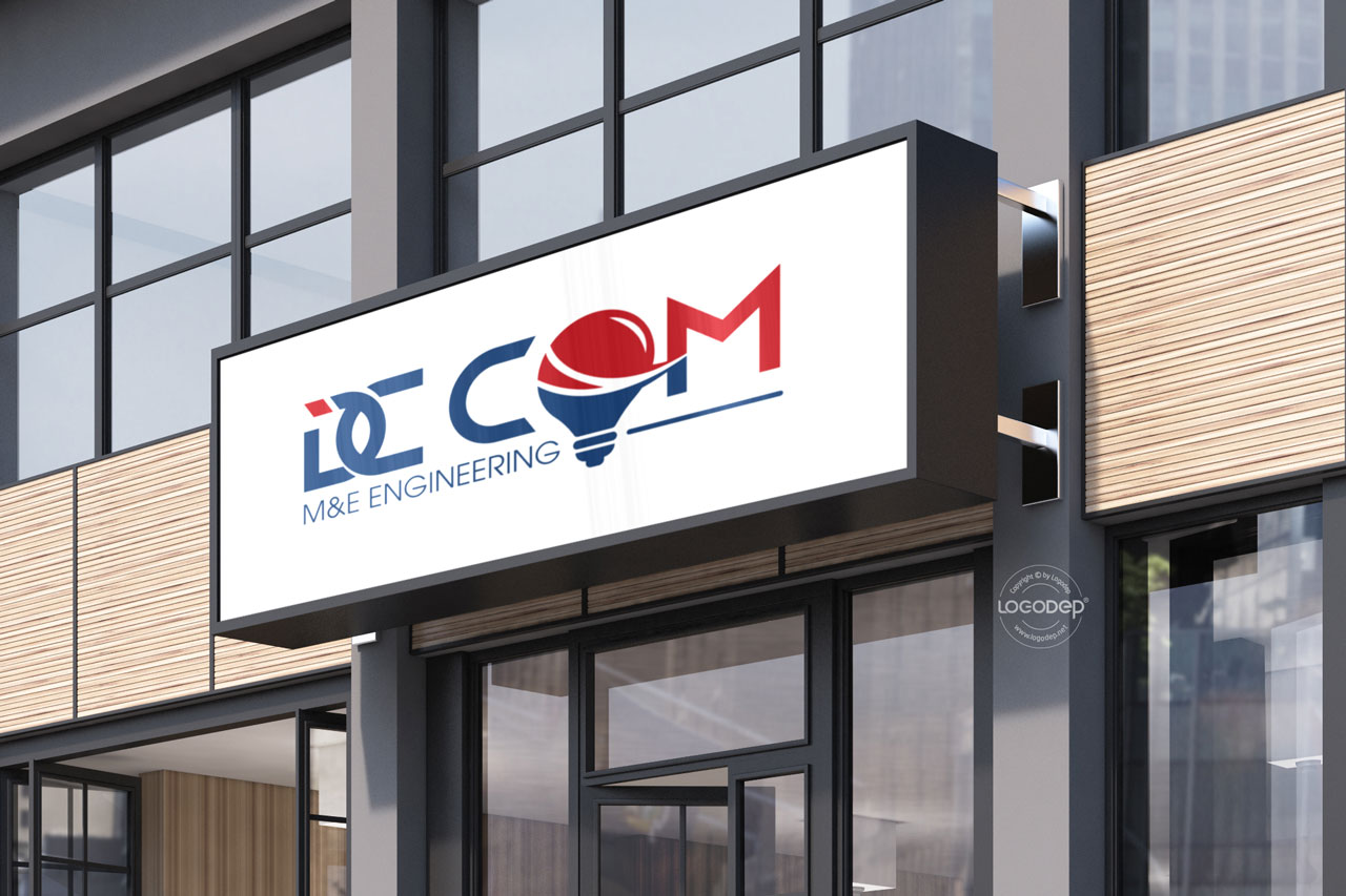 Thiết Kế Logo Thương Hiệu DC COM Tại LOGO ĐẸP