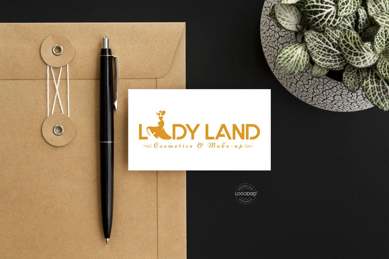 Thiết Kế Logo Thương Hiệu LADY LAND Tại Logodep.net
